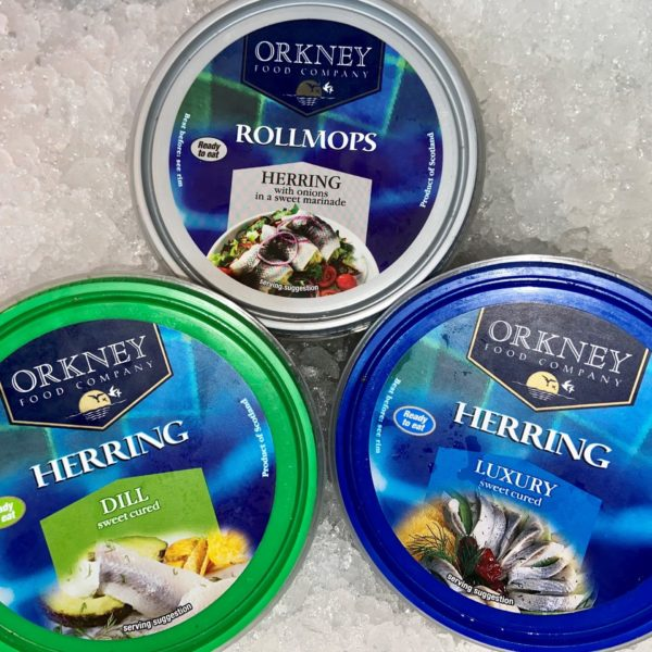 Tub of Herring