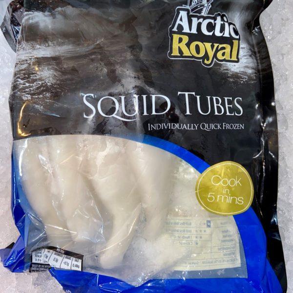 FROZEN SQUID TUBES